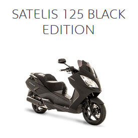 SATELIS 125 BLACK EDITION