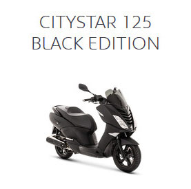 CITYSTAR 125 BLACK EDITION