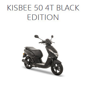 KISBEE 50 4T BLACL EDITION