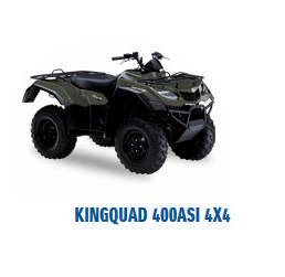 quad kingquad 400asi 4x4